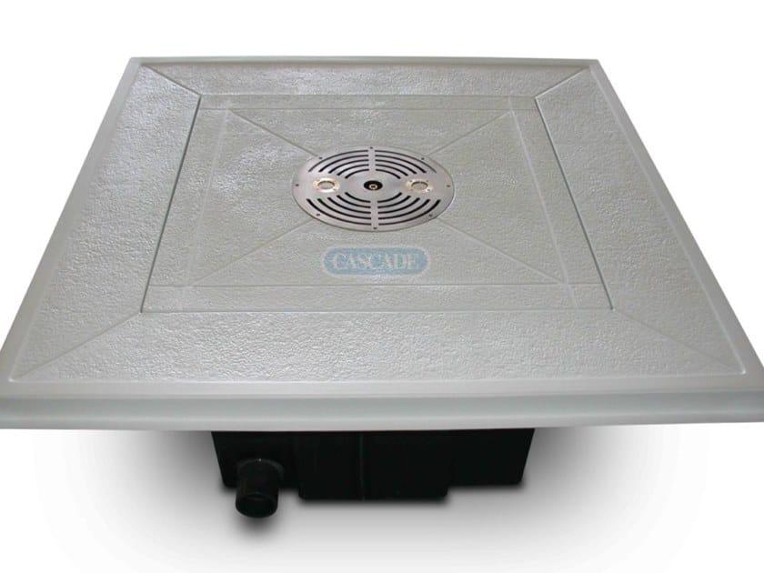 Fontana a pavimento pronta all'uso BALI 120 by CASCADE