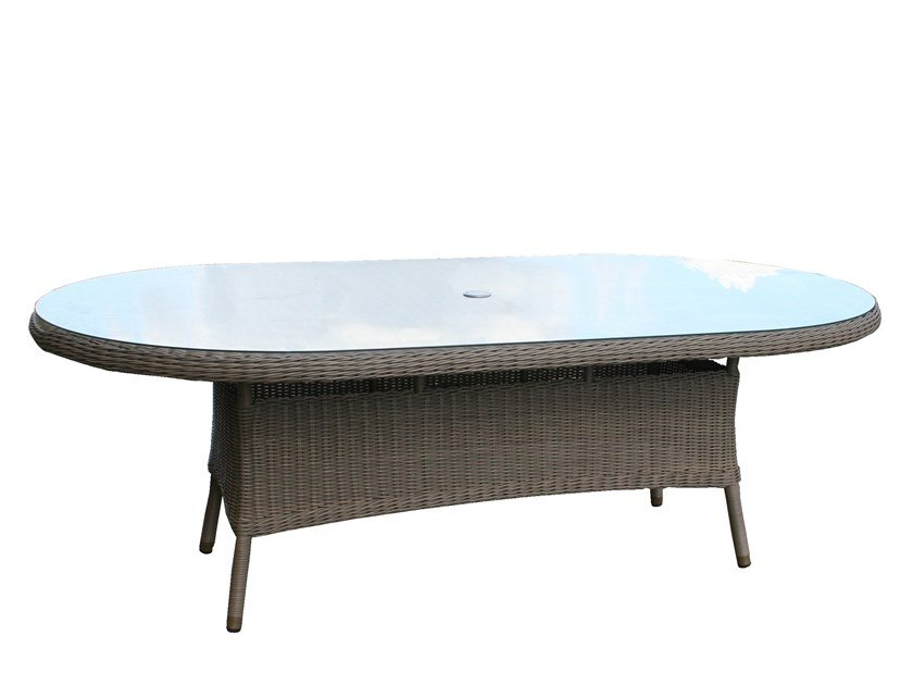 230cm Oval dining table BALI | Oval table by Bridgman