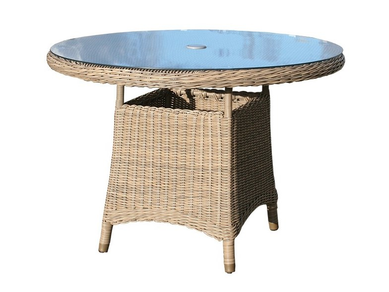 110cm Round dining table BALI | Round table by Bridgman