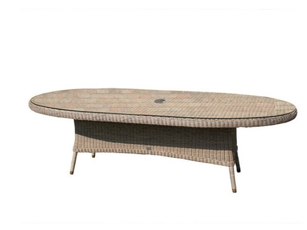 270cm Oval dining table BALI | Oval table by Bridgman