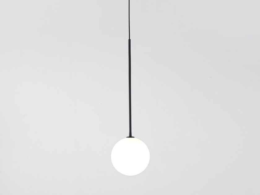 Opal glass pendant lamp BALL | Pendant lamp by Aromas del Campo