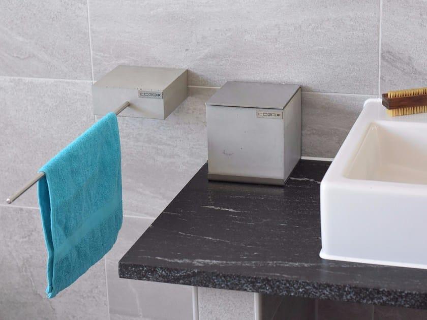 Concrete hand towel dispenser BALNEOS | Hand towel dispenser by CO33