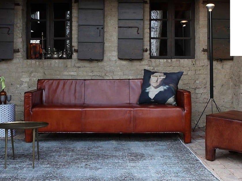 Leather sofa BALTIMORA | Leather sofa by Devina Nais