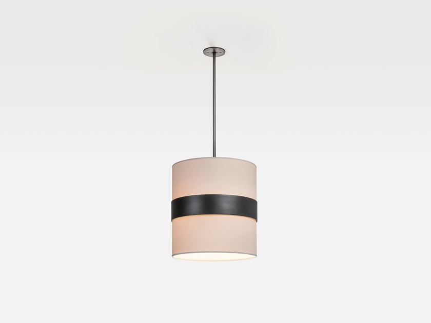 Direct light paper pendant lamp BAMBA by Kevin Reilly Collection