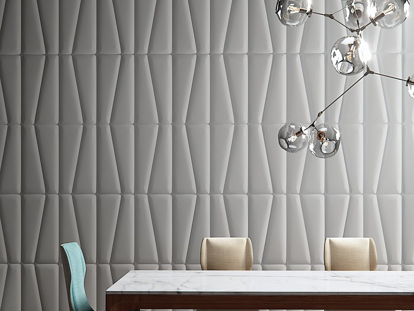 Geometric Vinyl Wallpaper Bamboo By Baboon