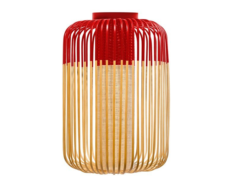 Bamboo ceiling lamp BAMBOO LIGHT   Ceiling lamp by Forestier
