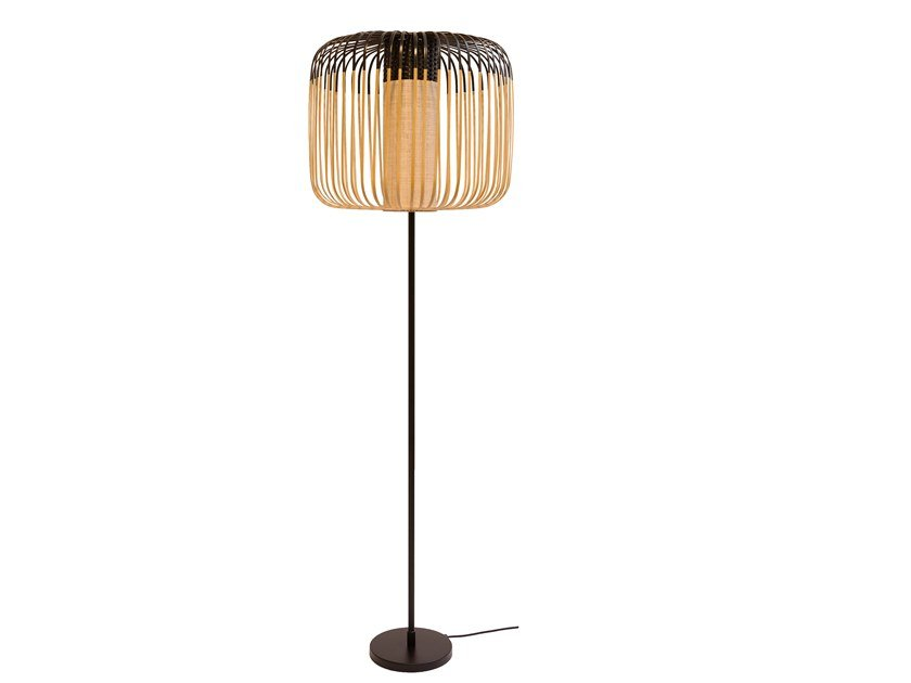 Bamboo floor lamp BAMBOO LIGHT | Floor lamp by Forestier