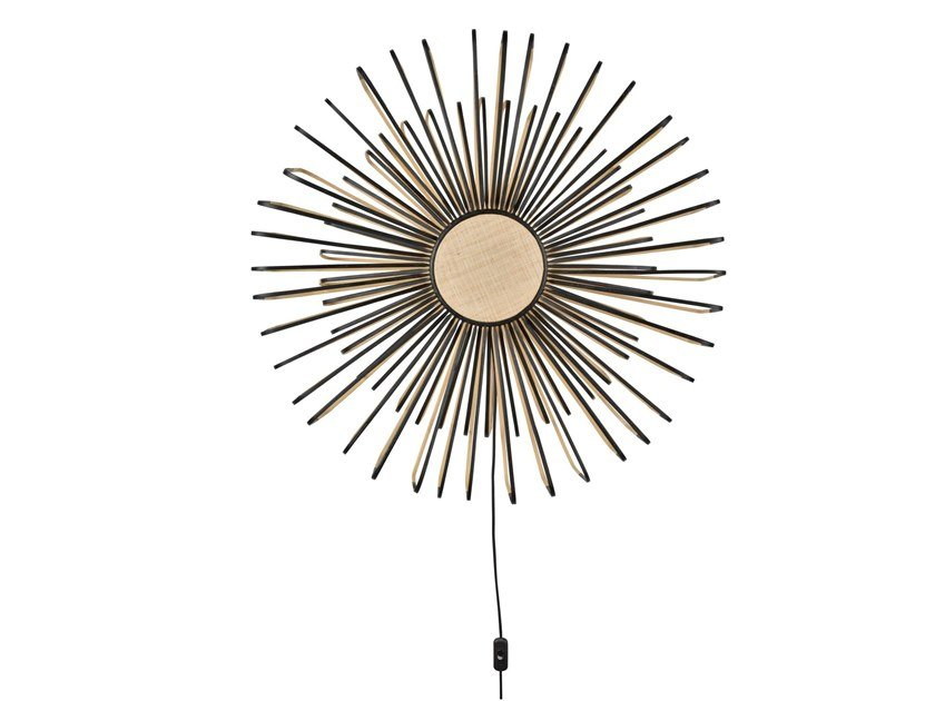 Bamboo wall lamp BAMBOO UP AND DOWN | Wall lamp by Forestier