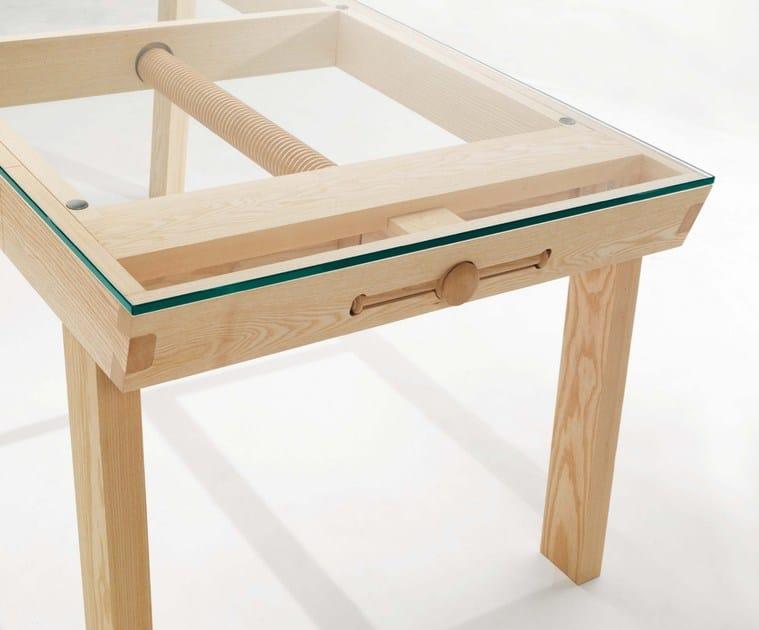 extending ash table banc by linfa design