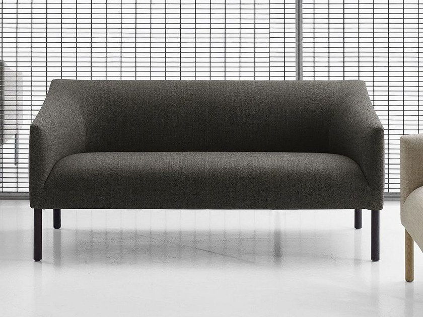 2 seater fabric sofa BANKSIDE | 2 seater sofa by B&B Italia Project