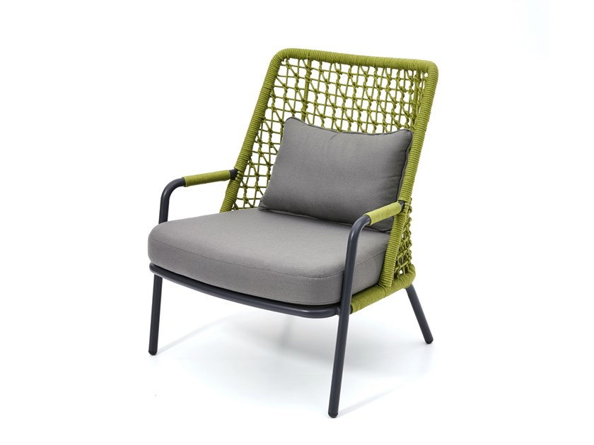 Garden armchair with armrests BANYAN TREE | Garden armchair by Kun Design