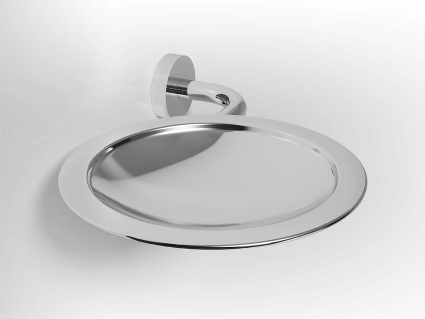 Wall-mounted metal soap dish BAO   Metal soap dish by Alna