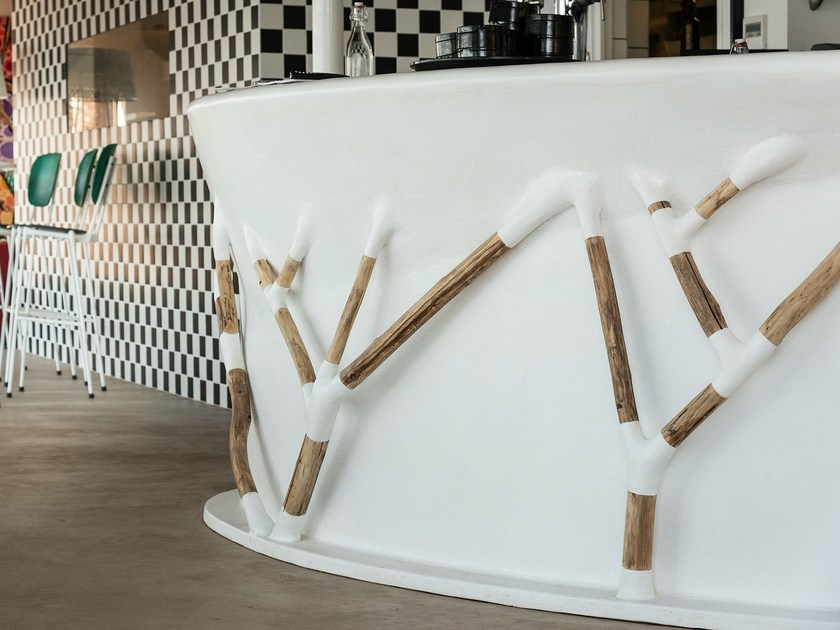 Bar counter BAR BRANCHES by Binome