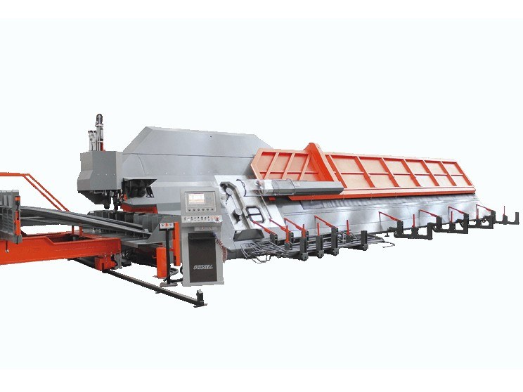 Bi-directional automatic bar shaping machine BAR WISER 28 by SCHNELL