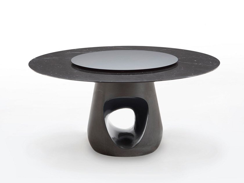 Tavolo rotondo in marmo BARBARA | Tavolo in marmo by Casamania & Horm