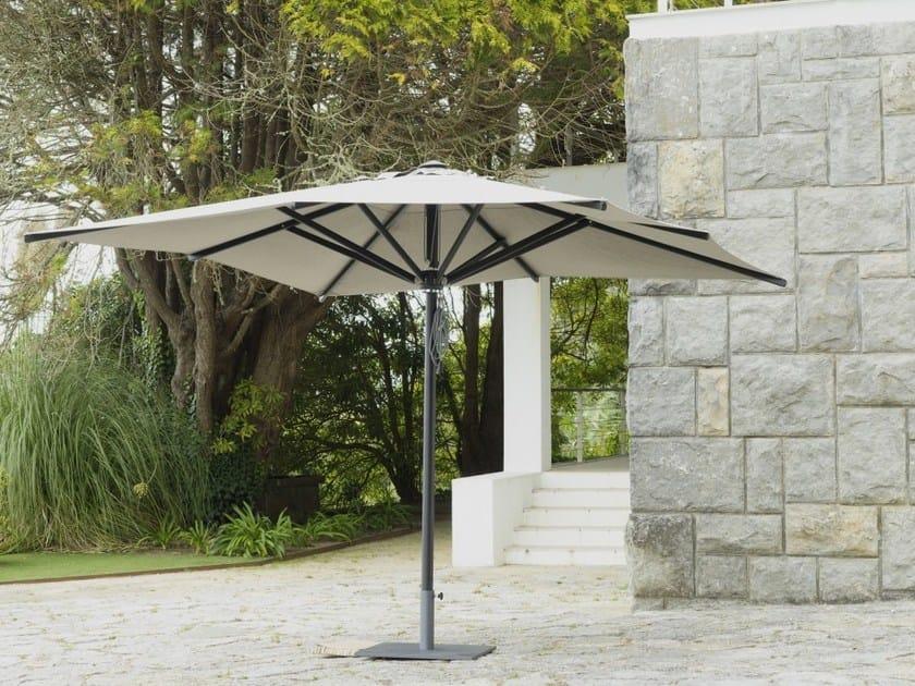 Square acrylic Garden umbrella BARBUDA by Jardinico