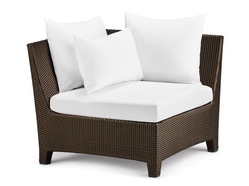 Corner modular armchair BARCELONA | Corner armchair by Dedon