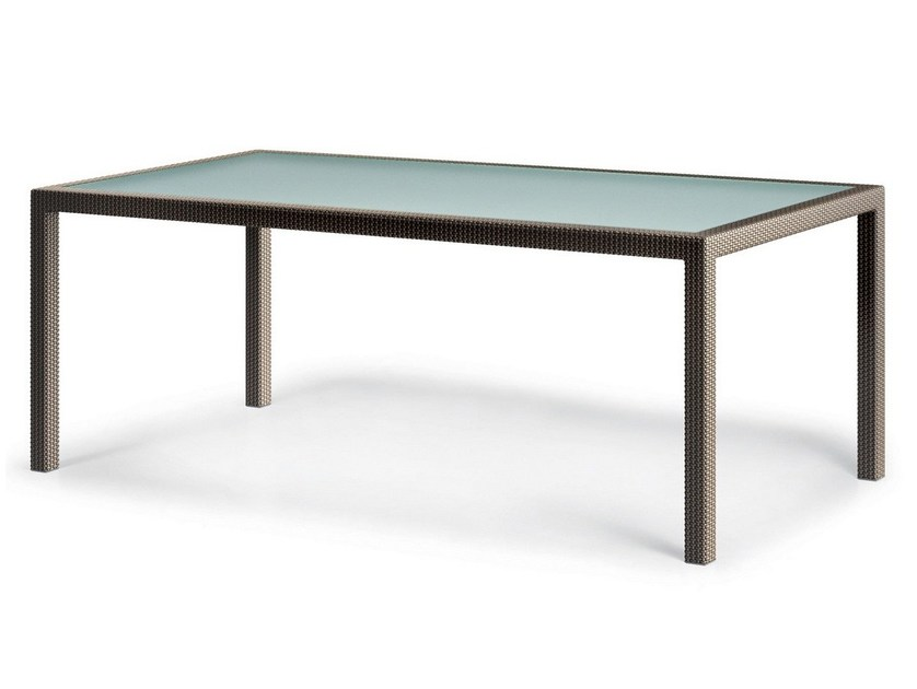 Rectangular garden table BARCELONA | Rectangular table by Dedon