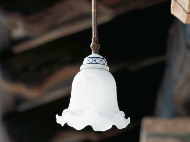 Glass pendant lamp BARCHESSA by Aldo Bernardi