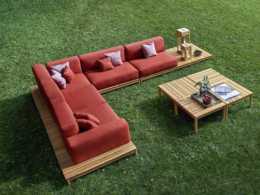 Corner sectional sofa BARCODE | Sectional sofa by Varaschin