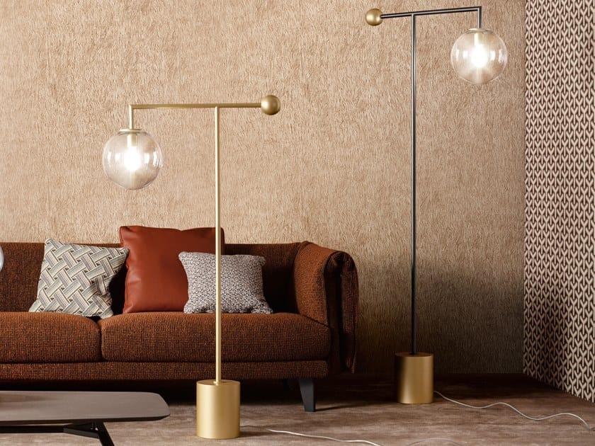 Lampada da terra a LED in metallo verniciato BARDOT | Lampada da terra by Bonaldo