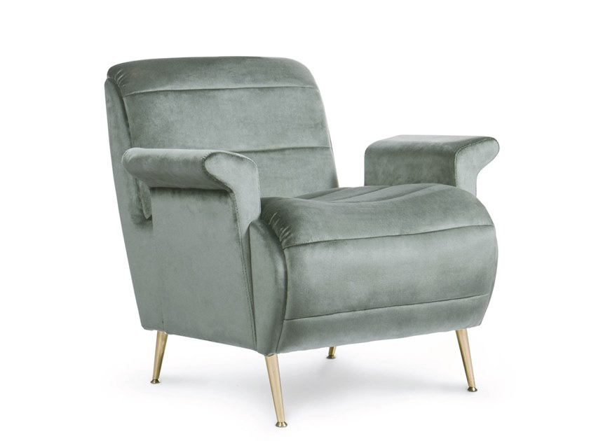 Fabric armchair with armrests BARDOT   Armchair by Essential Home