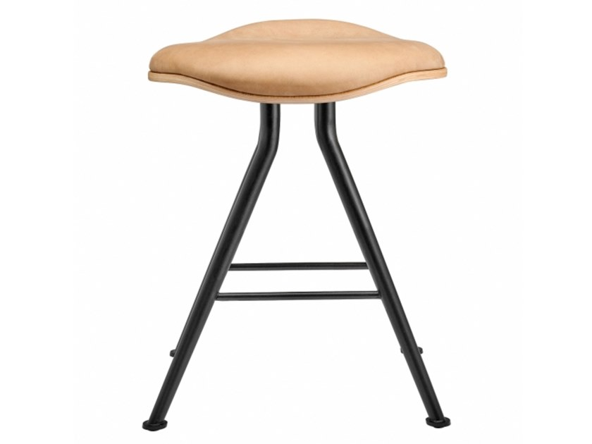 Low stool with integrated cushion BARFLY | Stool with integrated cushion by NORR11