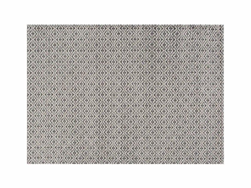 Patterned wool rug BARI by GAN