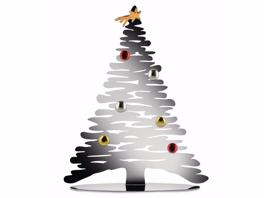 Stainless steel Christmas ornaments BARK | Christmas ornaments by Alessi