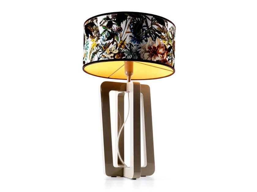 Wooden table lamp BARNABY - 740210 | Table lamp by Grilli