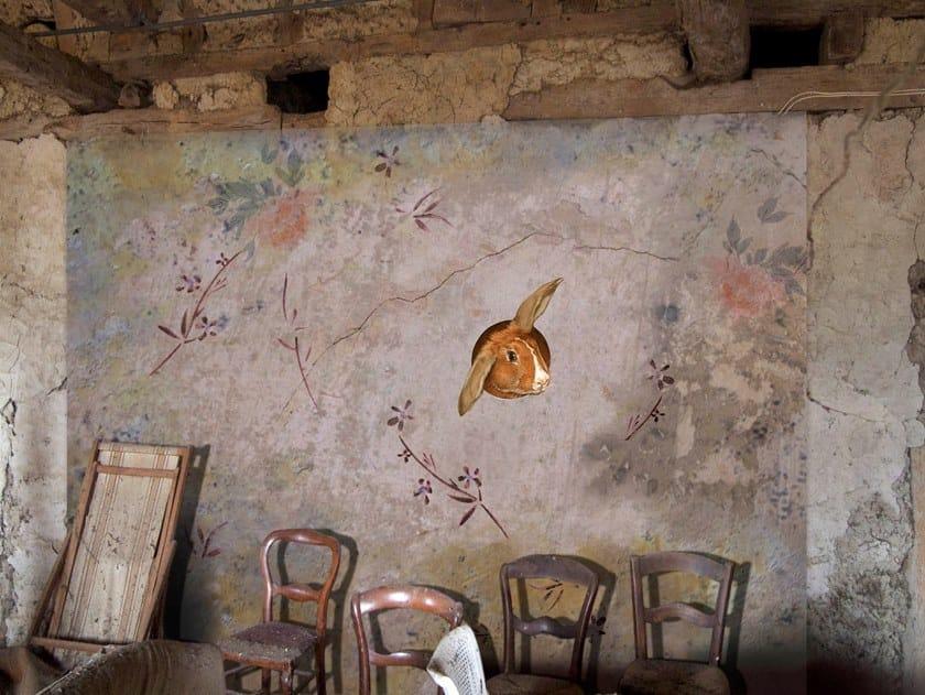 Waterproof wallpaper BARNEY DES FLEURS | Wallpaper by Elisabeth Leroy Collections
