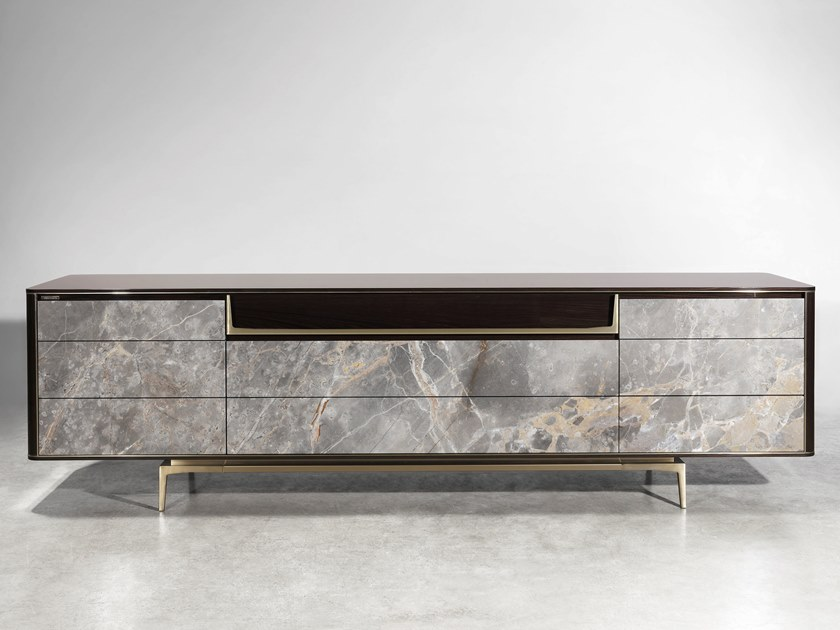 Lacquered sideboard with drawers BARNEY by Visionnaire