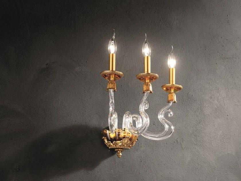 Applique barocco a3 collezione barocco by euroluce lampadari