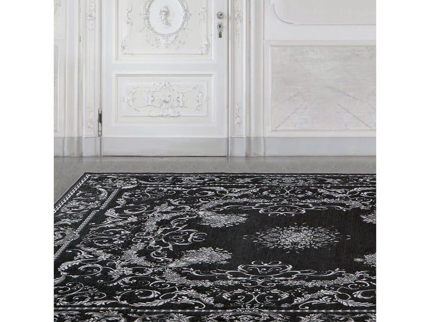Rectangular chenille rug BAROQUE by Adriani e Rossi edizioni