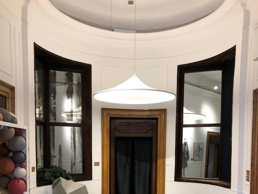 Lampada a sospensione a LED in PVC BARRISOL® CASTIGLIONI