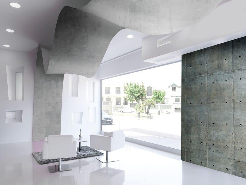 Soffitto teso / Parete tesa in PVC BARRISOL® Effetto cemento by BARRISOL