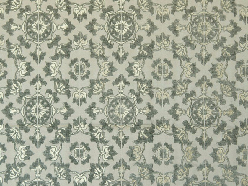 Jacquard fabric with graphic pattern BARROK FR by Aldeco
