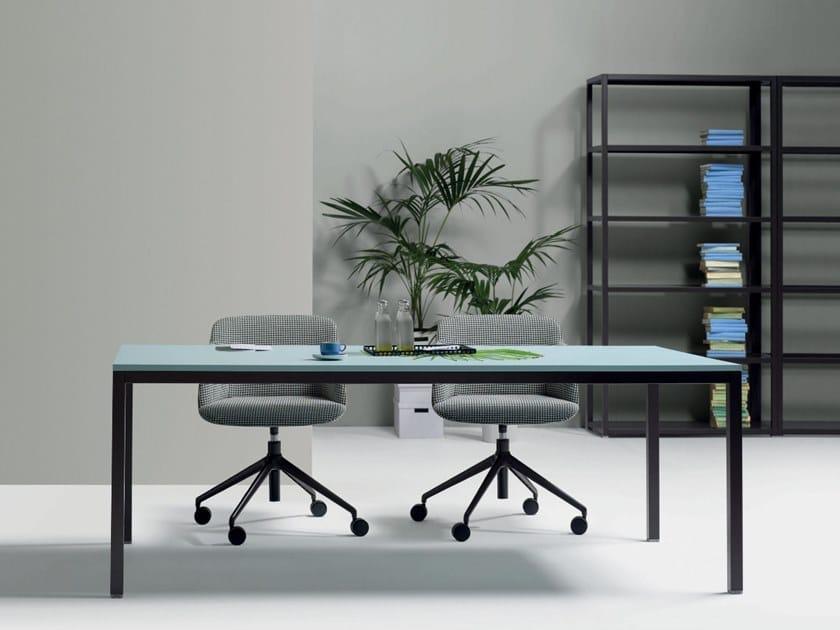 Rectangular meeting table BARTOLO | Meeting table by Quinti Sedute