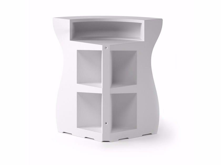 Polyethylene bar counter BARTOLOMEO CORNER by Plust