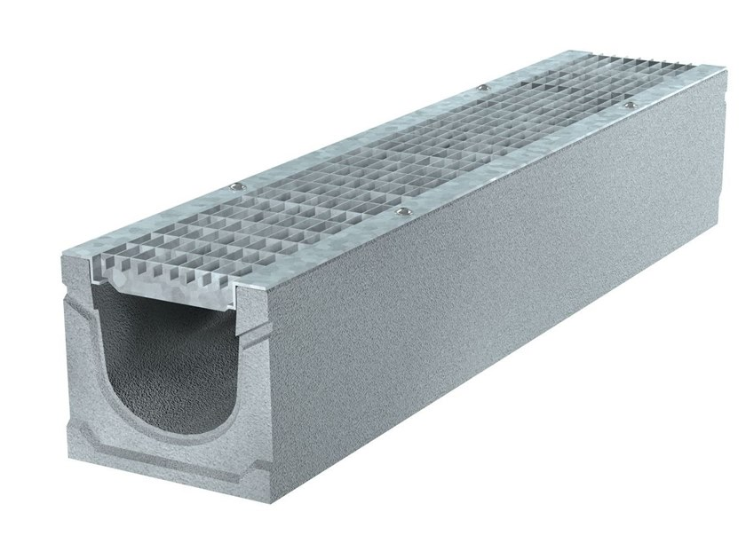 BASIC+ 150 H185   Elemento e canale di drenaggio Canale Basic+ 150 H185 B125