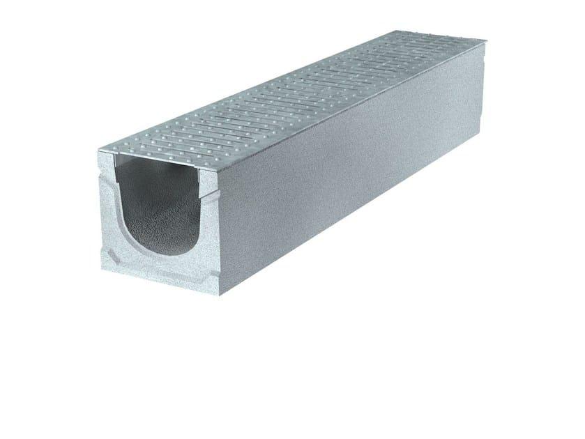 BASIC+ 150 H185   Elemento e canale di drenaggio Canale Basic+ 150 H185 A15