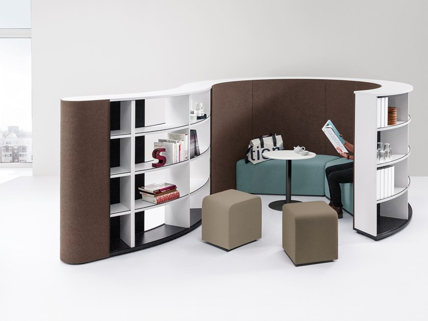 Office booth for coffee break BASIC FLOW - SIT by werner works