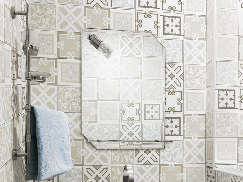 Glazed stoneware wall tiles CLASSIC | Wall tiles by ORNAMENTA