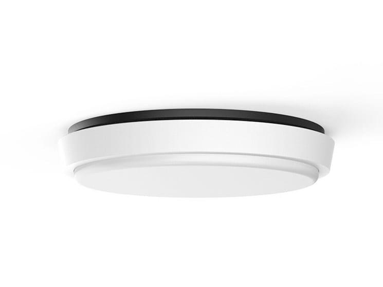 LED aluminium ceiling light BASIC by LANZINI