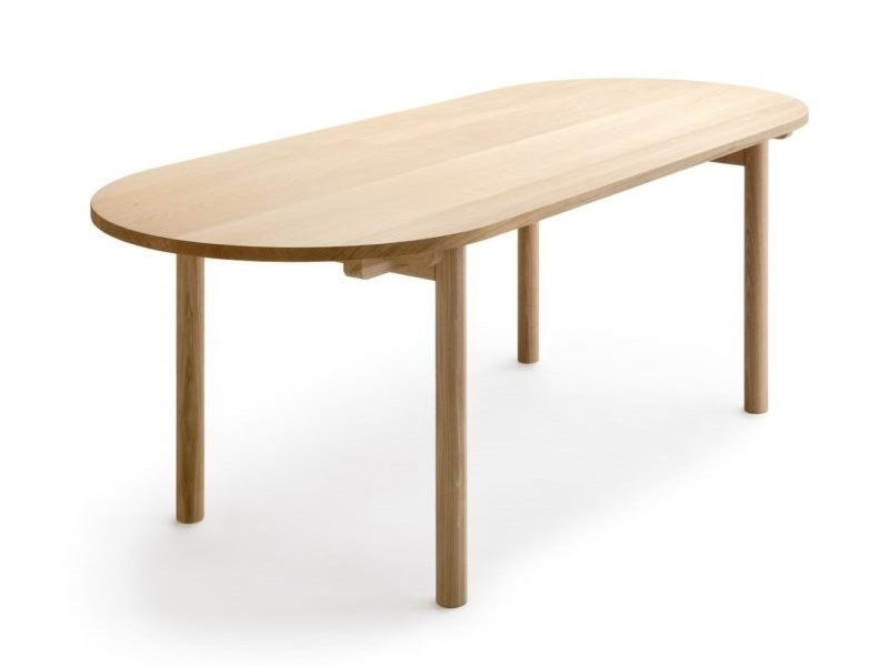 Solid wood table BASIC by Nikari