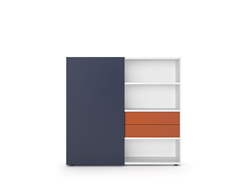 Office storage unit BASIC S | Office storage unit by werner works