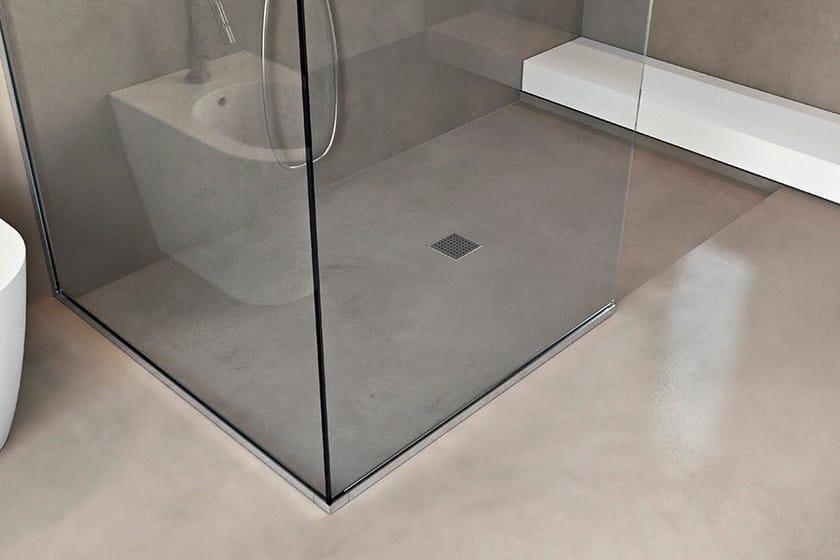 Piatto doccia filo pavimento BASIC SHOWER - MAKRO