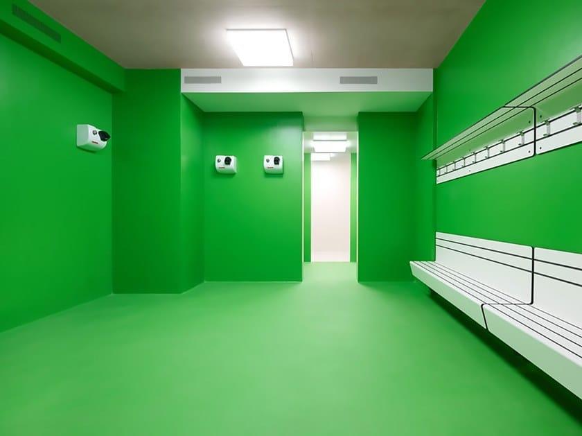 Resin wall/floor tiles IPM AQUAPERM CERMIX by IPM Italia
