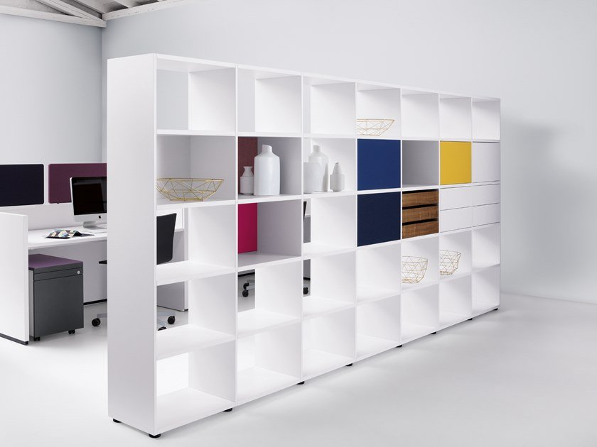 Modular office shelving BASIC VIEW | Modular office shelving by werner works