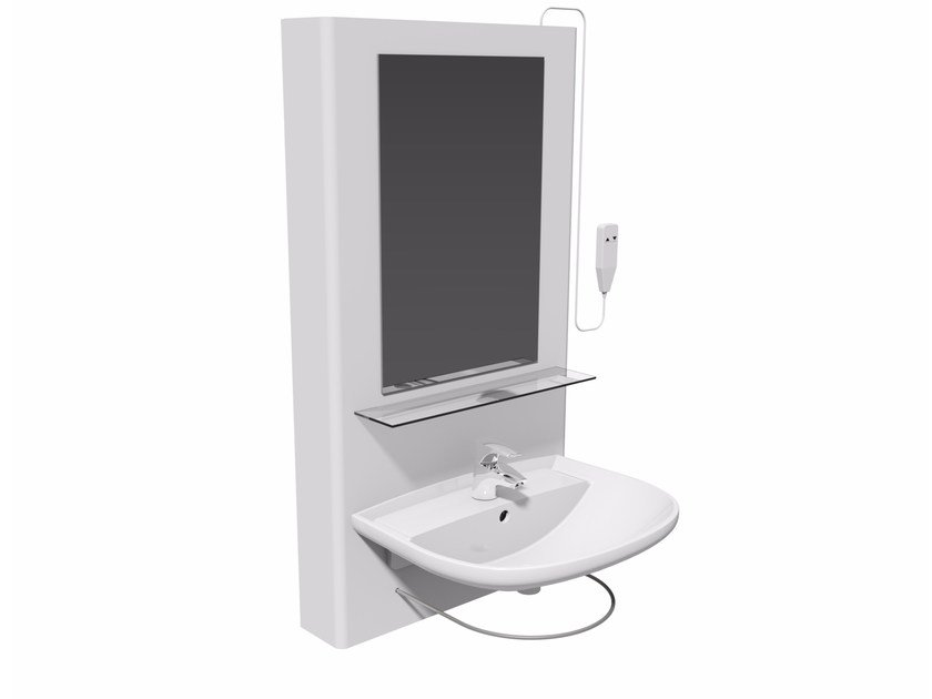 Washbasin for disabled with electric motion Washbasin BASIS by Ropox